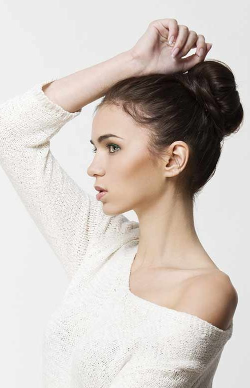 updo hairstyle for females