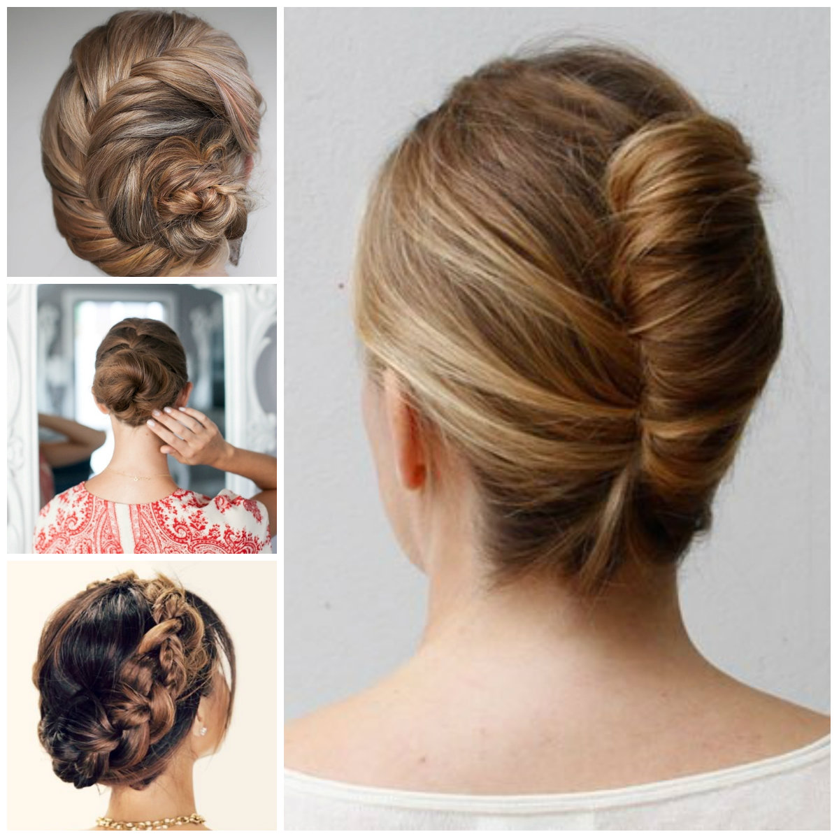 8 Formal Updos for Exciting Days