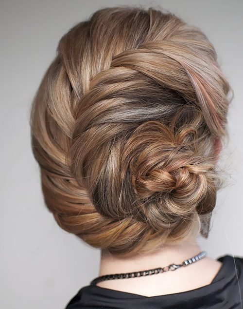 Chignon Formal Updo