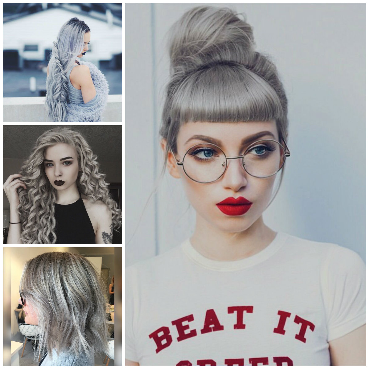 Coolest Grey Hairstyles for 2016