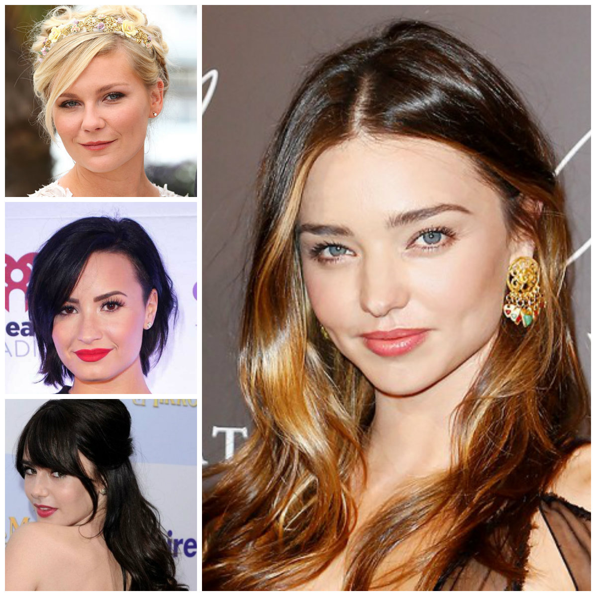 Hottest Hairstyles for Round Face Shapes