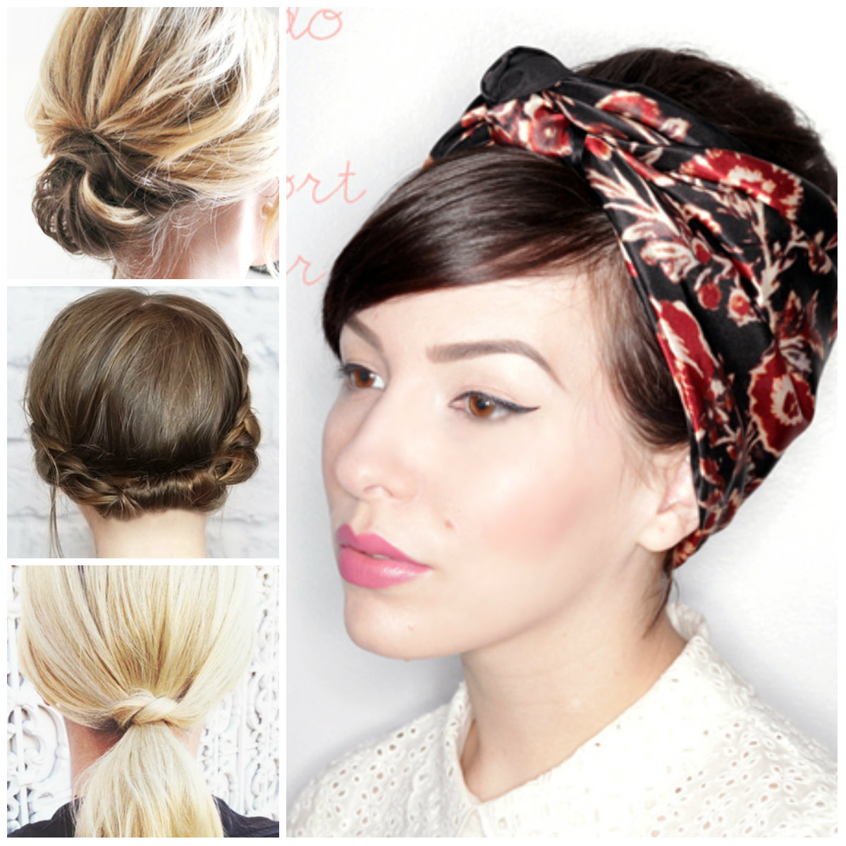 Impressive Updos for Short Hair