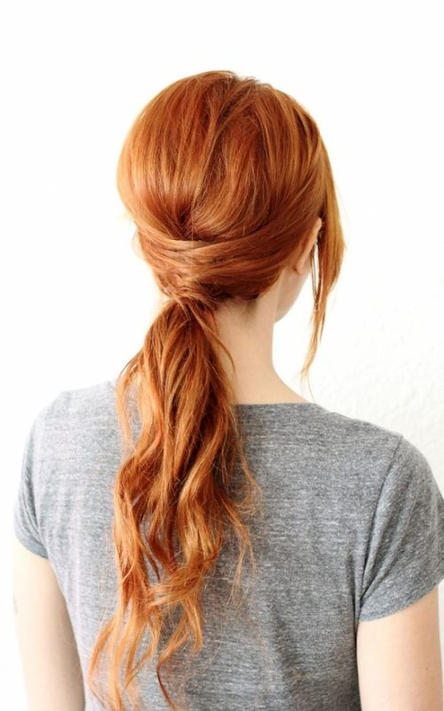 Low Hanging Ponytail