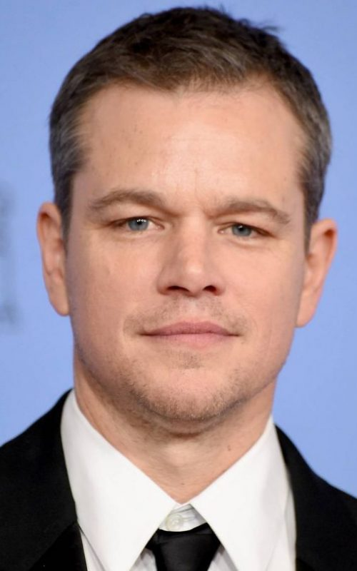 Matt Damon Short Haircut