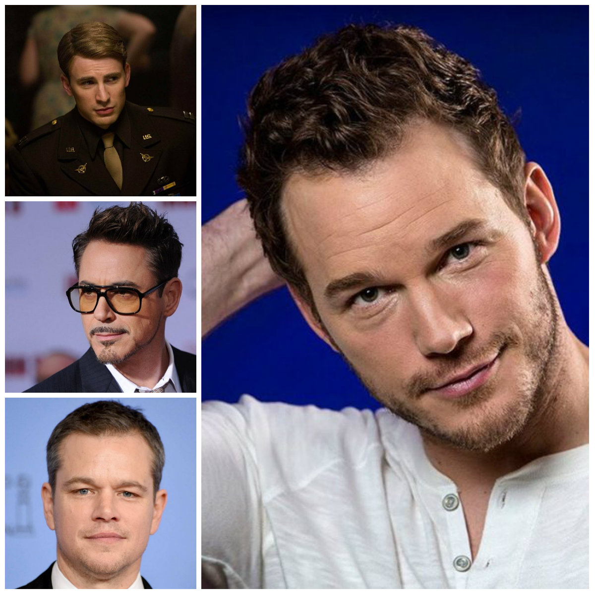 Men Celebrities Short Haircuts