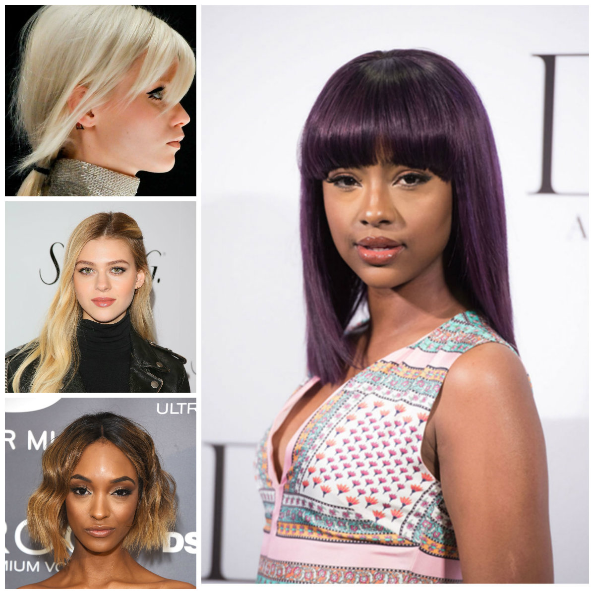 New Hair Colors from Fashion Shows