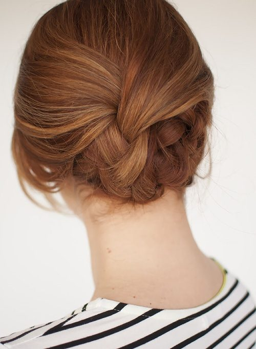 Plaited Formal Updo