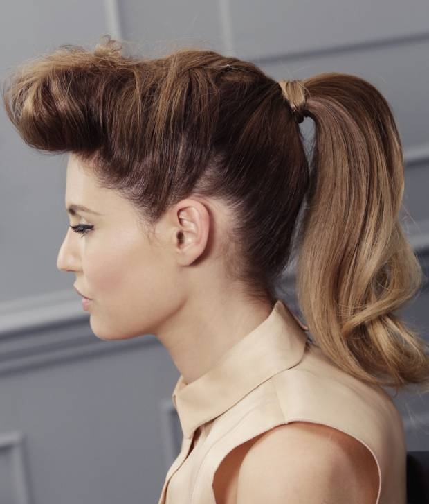 Retro Glam Ponytail