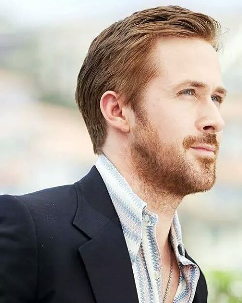 Ryan Gosling Sleek Short Haircut