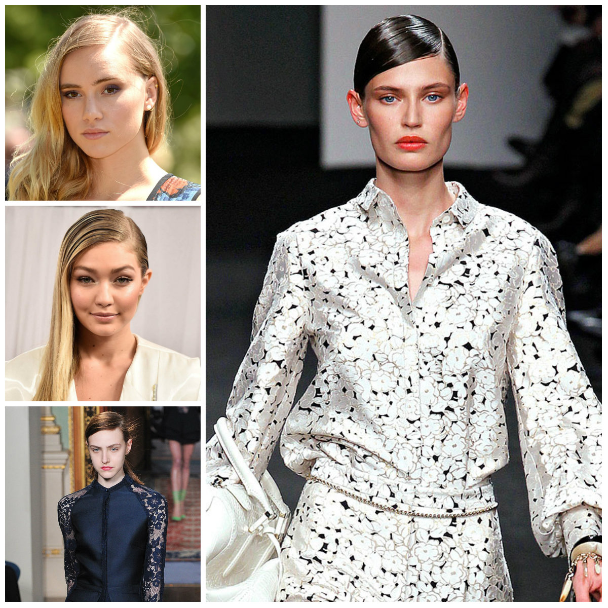 Subtle Hairstyles with Side part