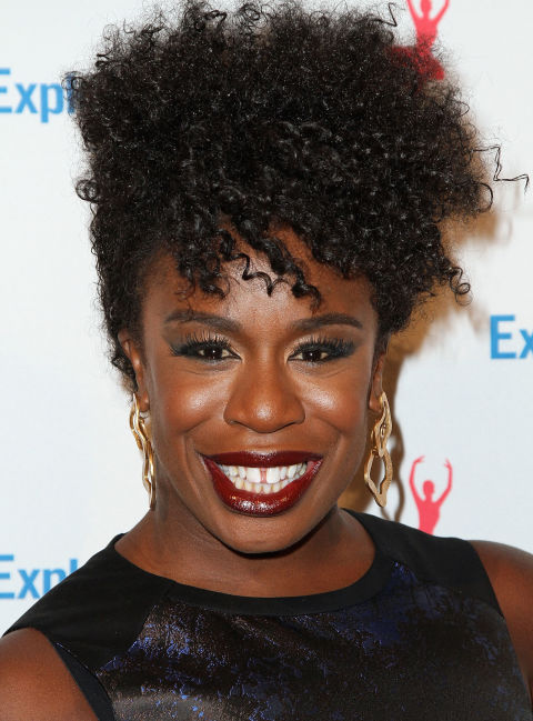 Uzo Adubas Pinned Up Curls