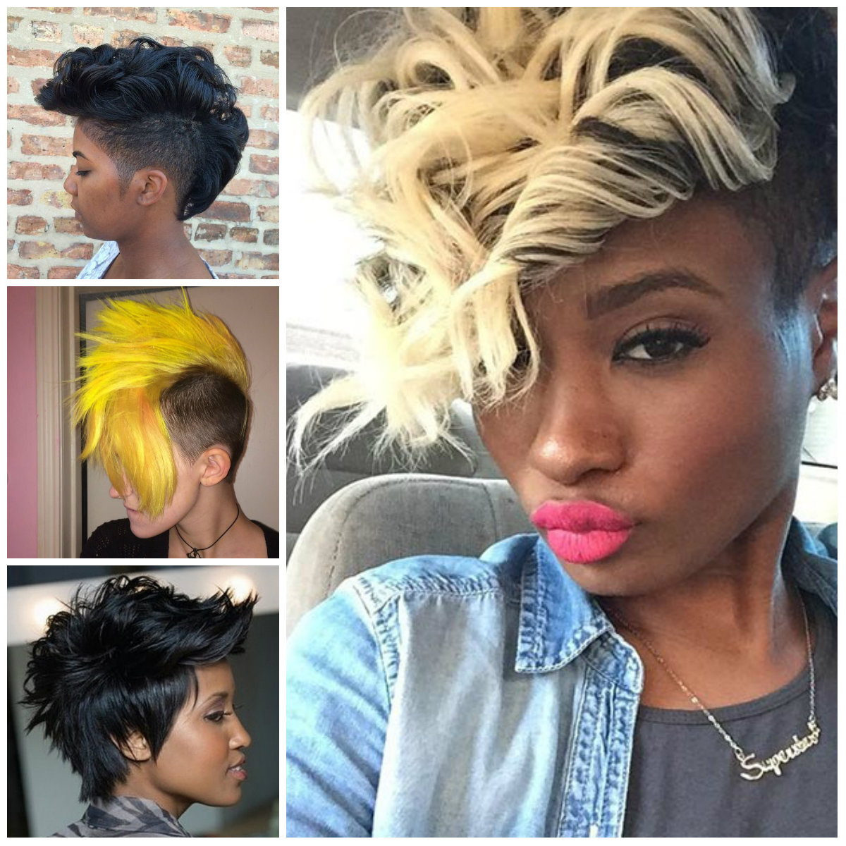 Women's Mohawks Hairstyles for 2016