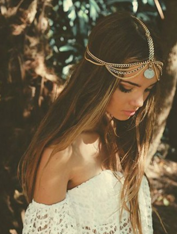 boho stright hair