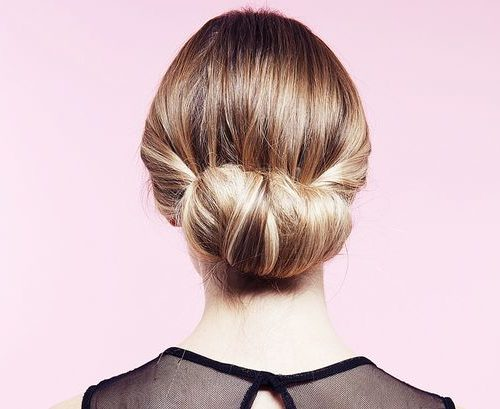 elegant twisted bun 2016
