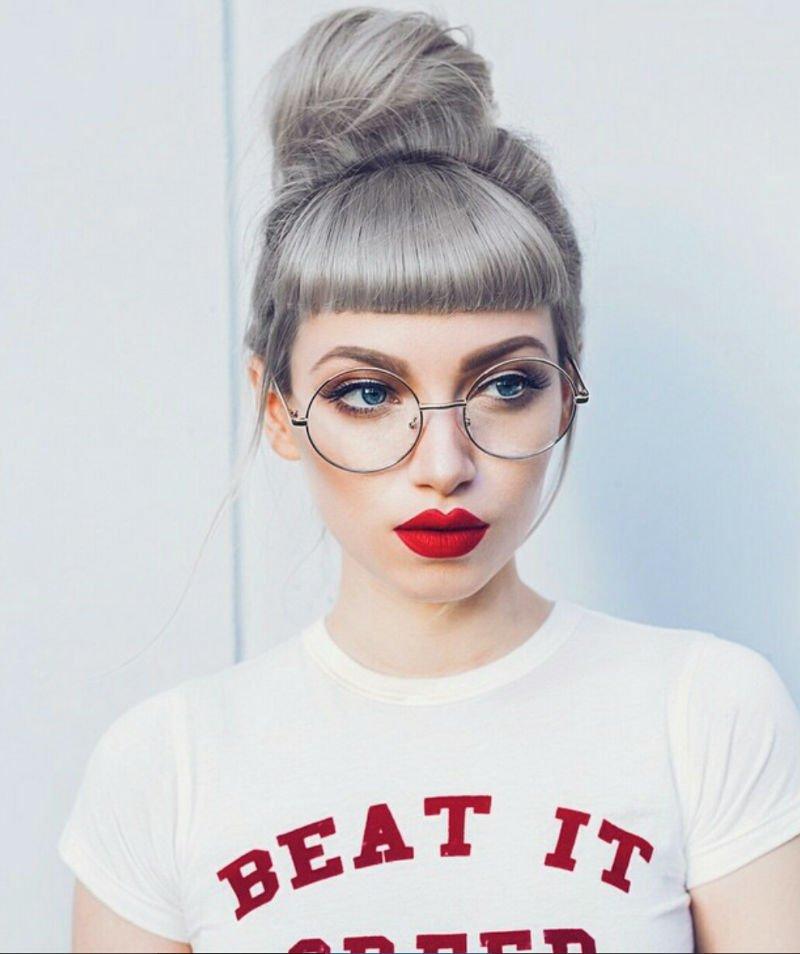 coolest grey hairstyles for 2016  2019 haircuts