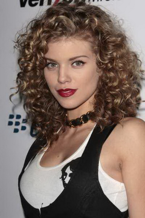 Curly Hairstyles For Medium Length Hair Haircuts - Hairstyle ringlets curls