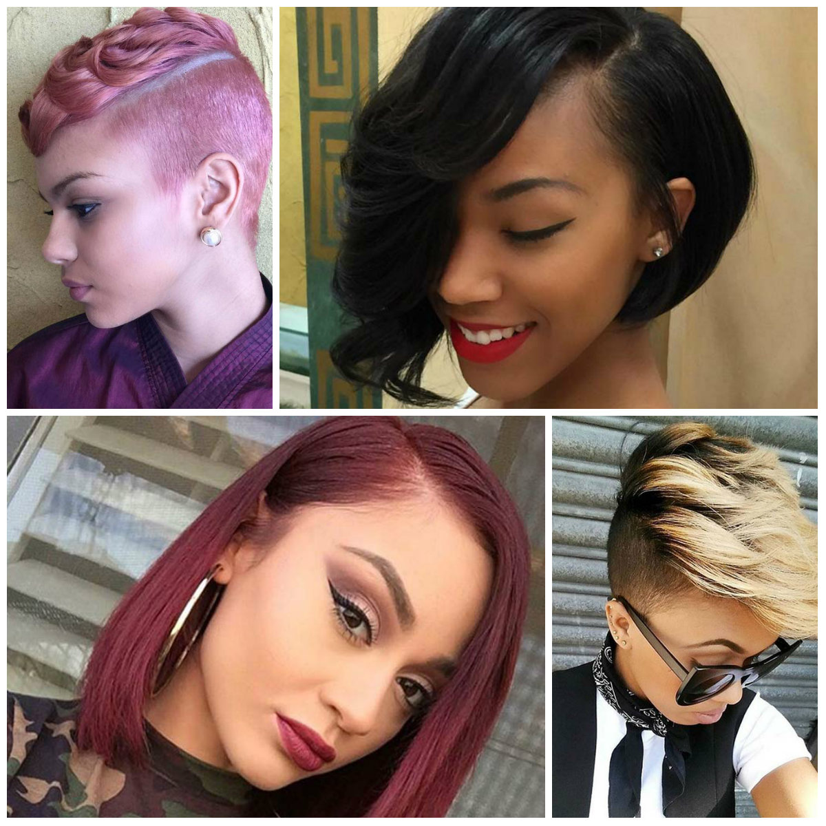 Boldest Short Haircuts for Women