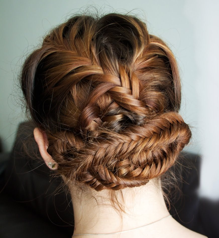 Fishtail Updo for 2017
