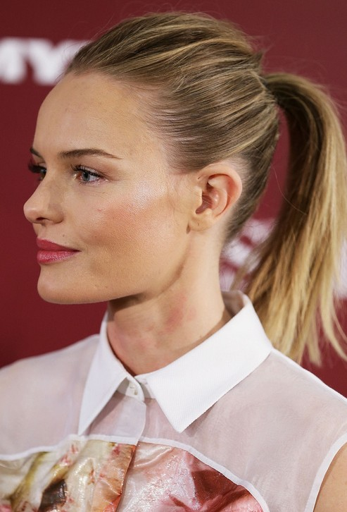 Kate Bosworth Sleek Ponytail Hairstyle