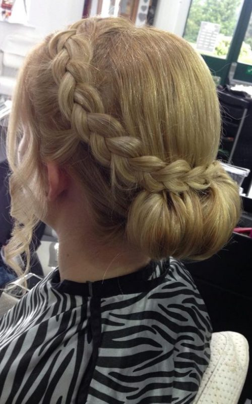 Chamomile Braided Look