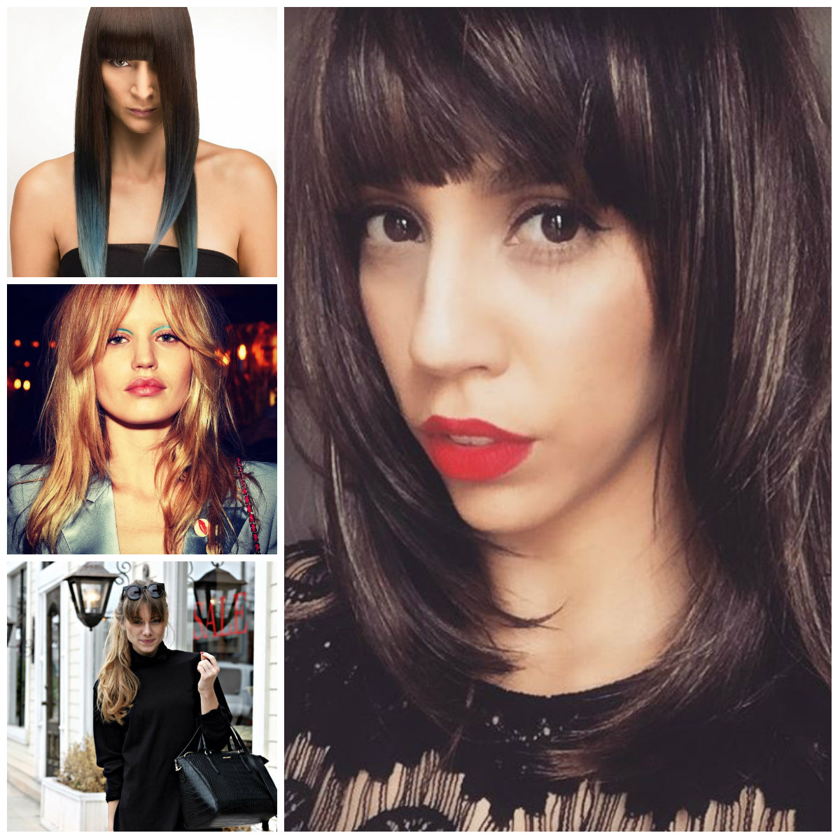 Cool Hairstyles with Long Bangs for 2017