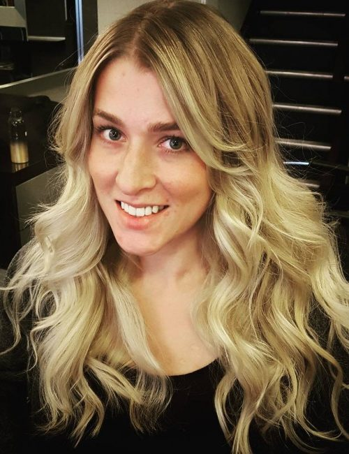 Smooth Dirty Blonde Balayage