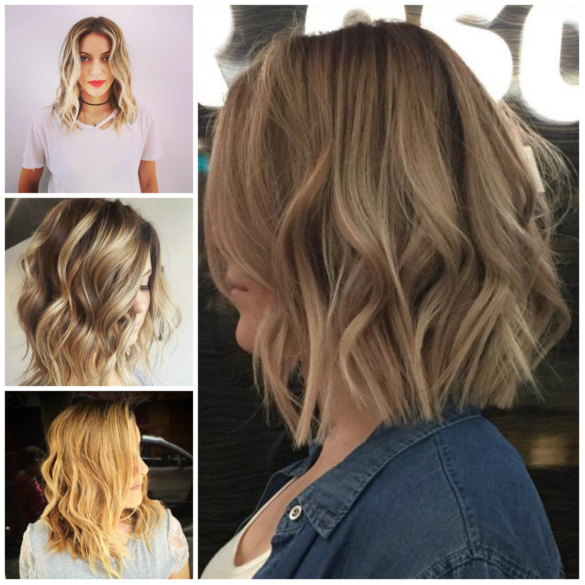 Pictures Of Medium Hairstyles For 2017 : Stylish short wavy hairstyles for haircuts