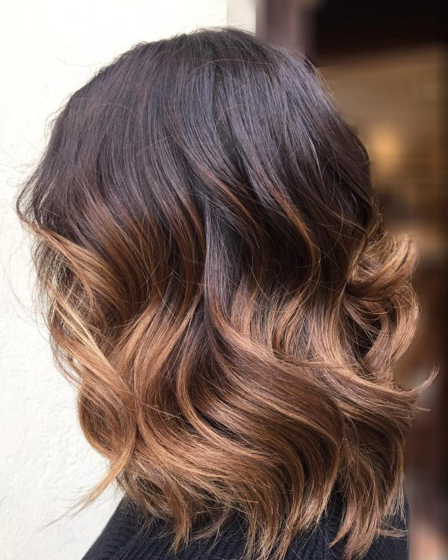 chocolate brown waves for 2017