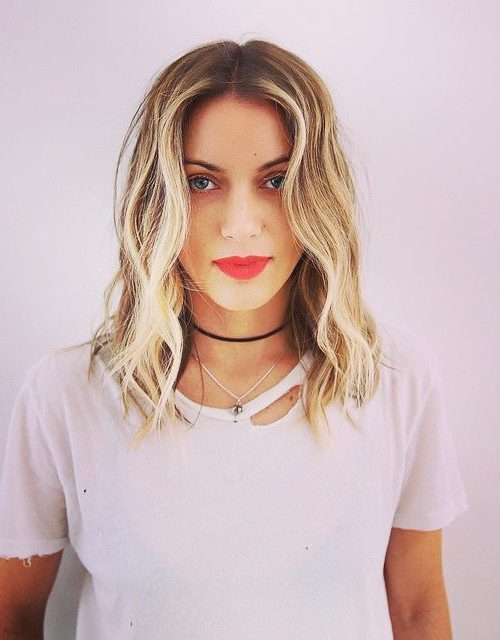 cool beach waves for short hair 2017