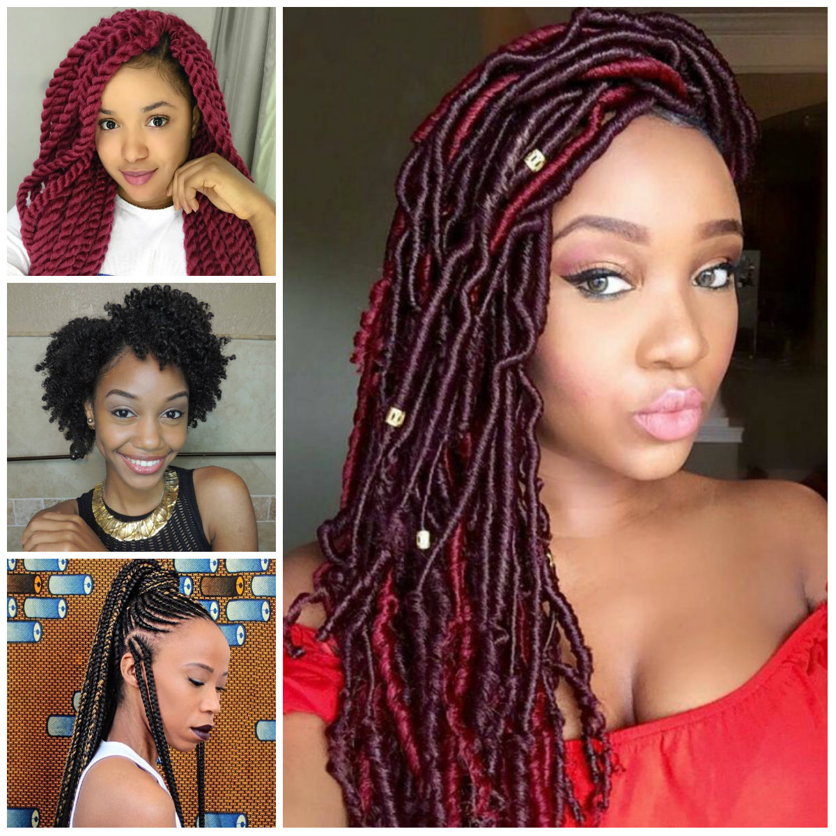 2017 Black Womens Protective Hairstyles