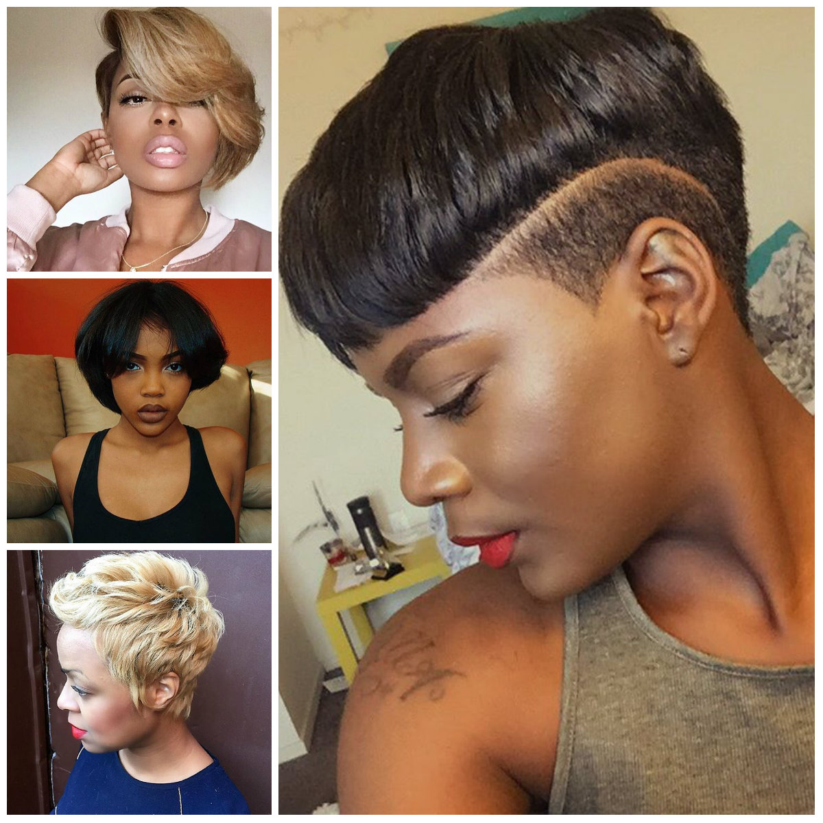 2017 Upscale Short Haircuts for Black Women