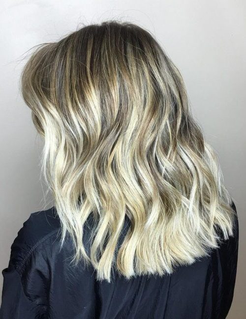 Balayage Blonde Hair