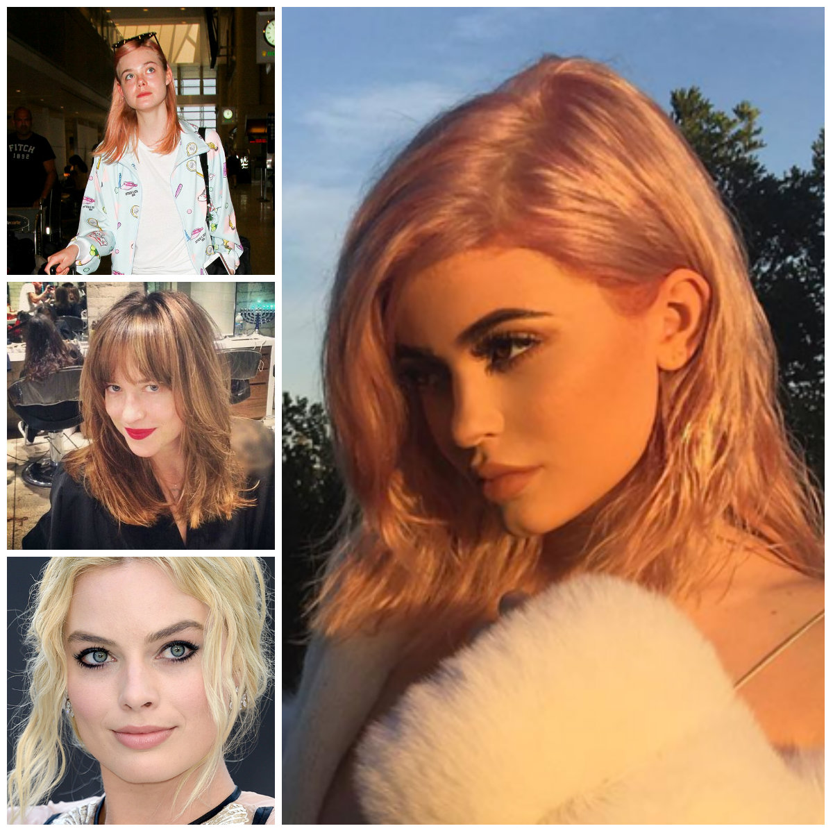 Celebrities Inspired Hairstyles for 2017