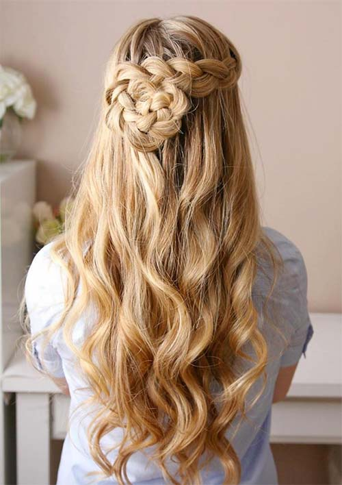Marvelous Gorgeous Braided Hairstyle For 2017 2017 Haircuts Hairstyles Hairstyle Inspiration Daily Dogsangcom