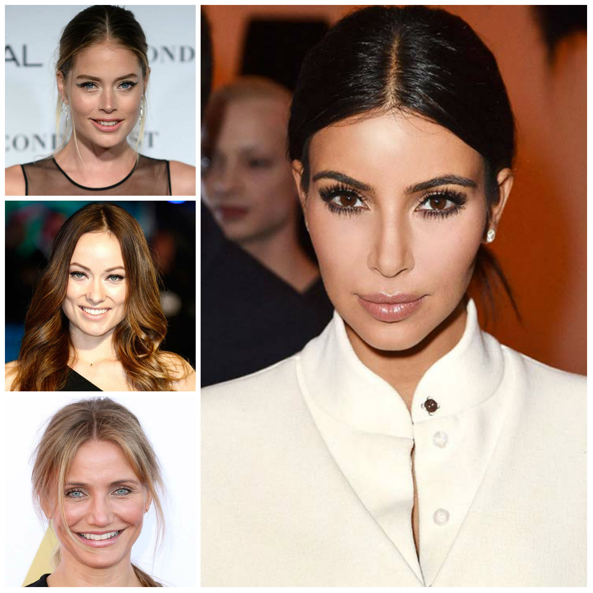 Elegant Hairstyles with Center Part for 2017