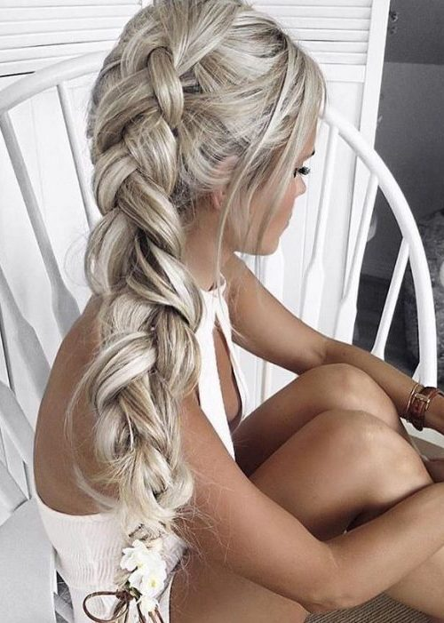 Grey Loose Braid