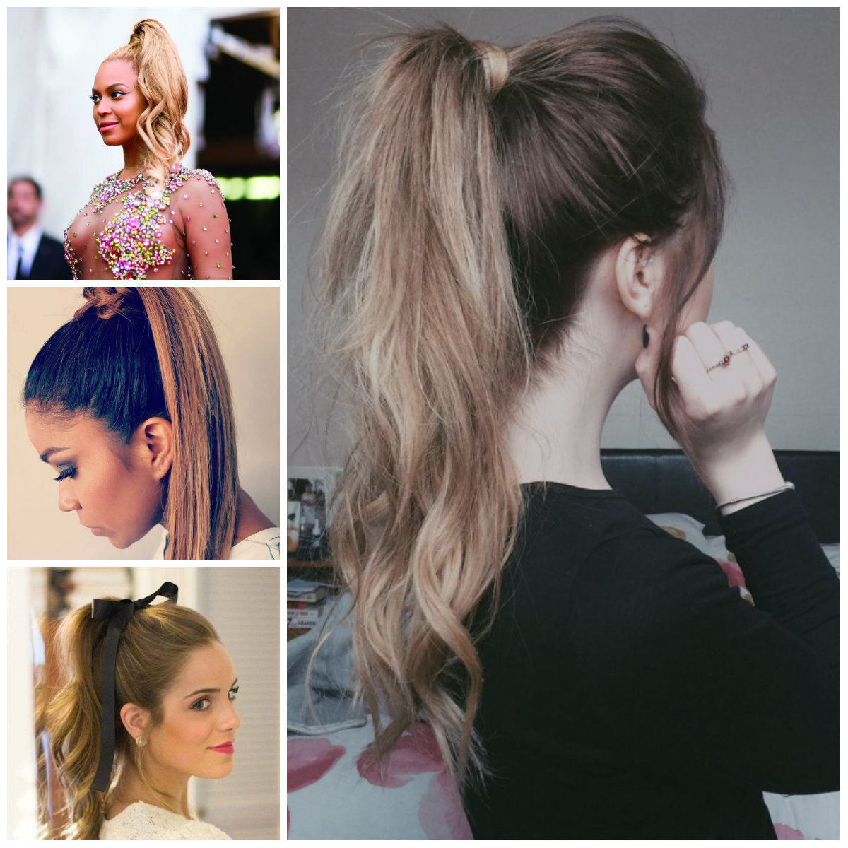 High ponytail Ideas for 2017