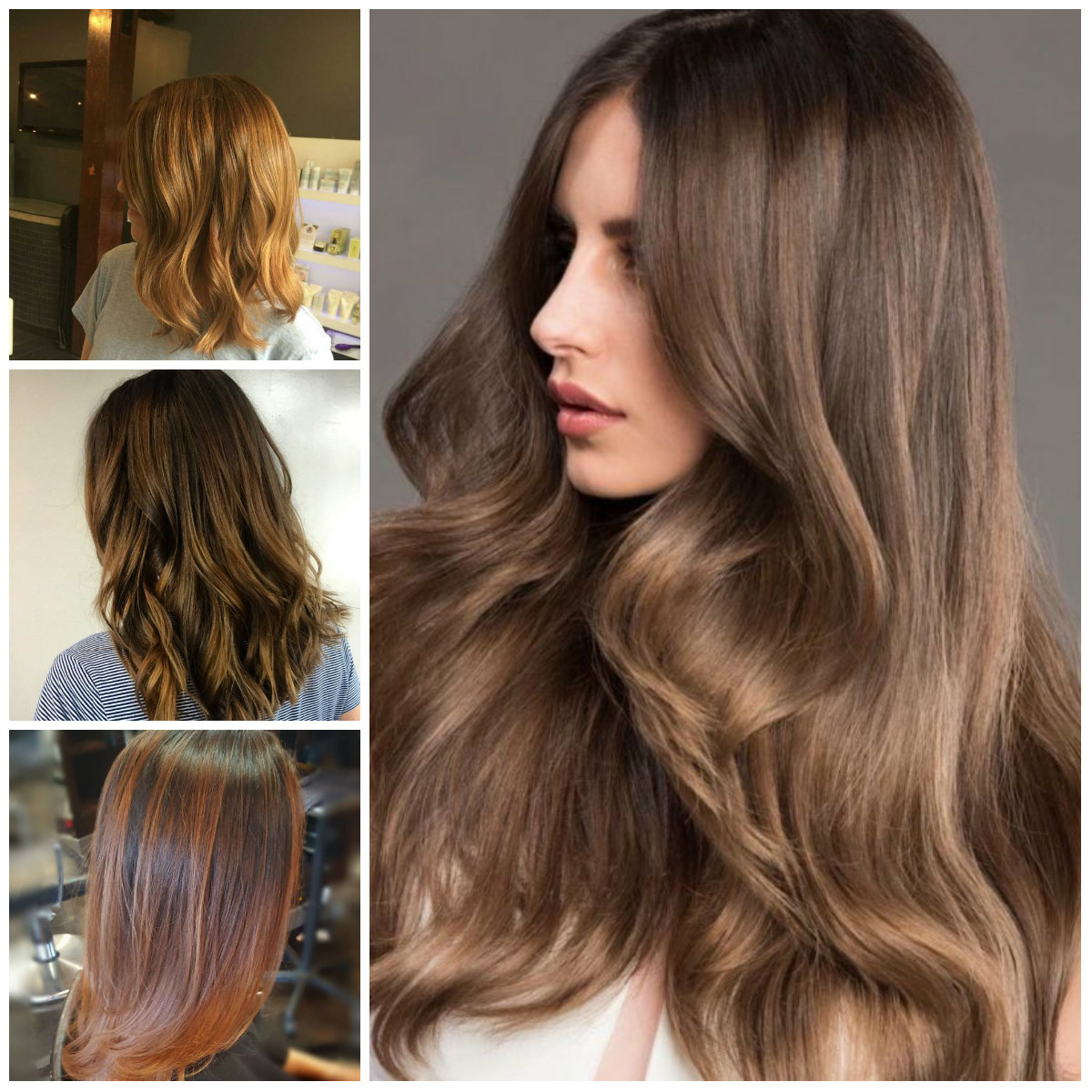 Light and Dark Golden Brown Hair Ideas for 2017
