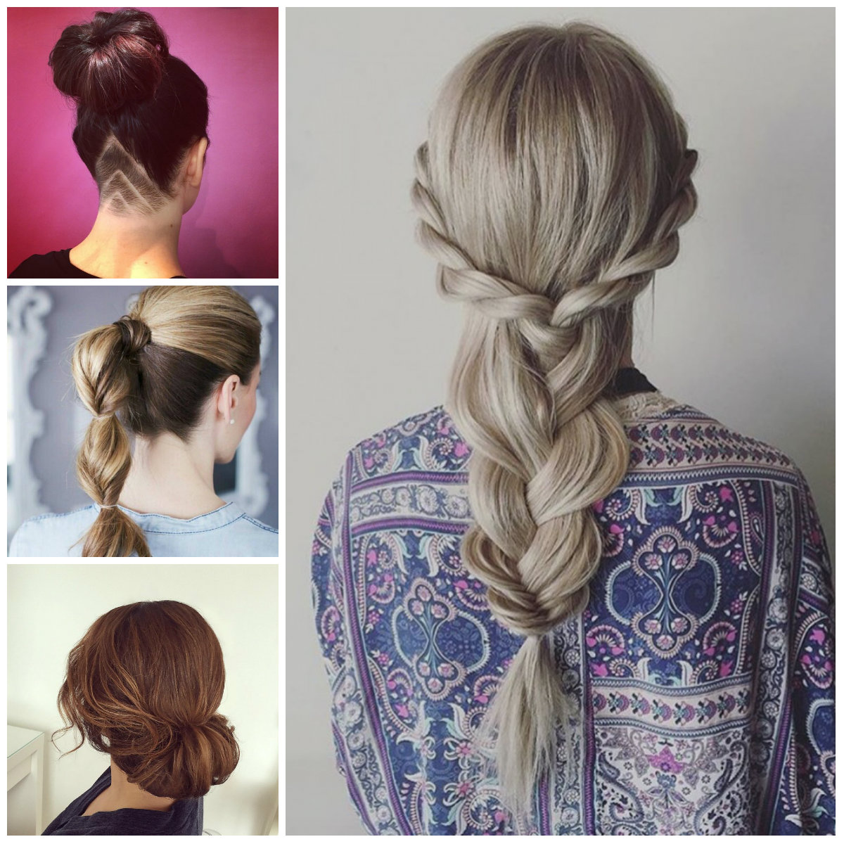 Quick and Easy Hairstyles for 2017