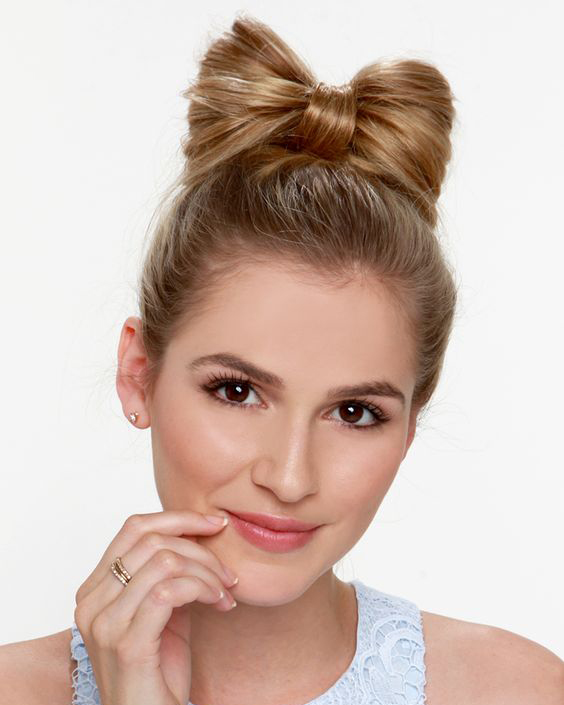 Cute Bow Hairstyle Ideas 2017 Haircuts Hairstyles And