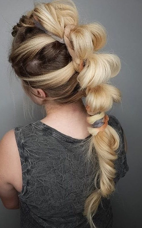 Crimped Bubble Braid
