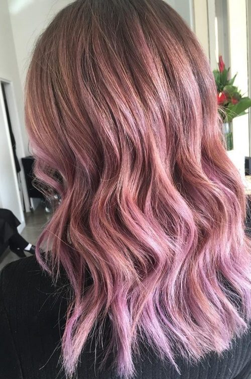 Incredible Light Purple Hair