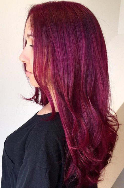 Long Waves with Magenta Hue