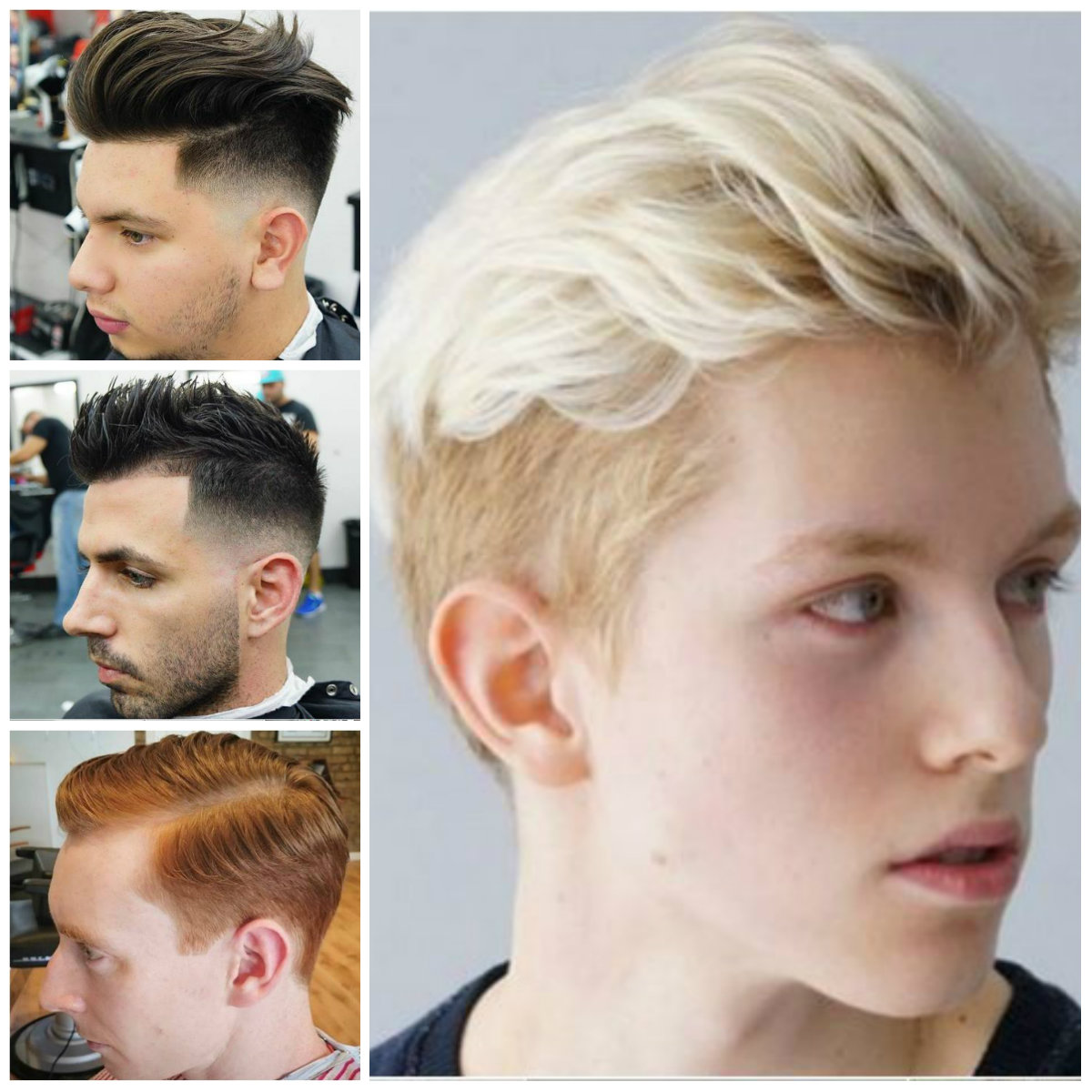Men's Short Haircuts for 2017