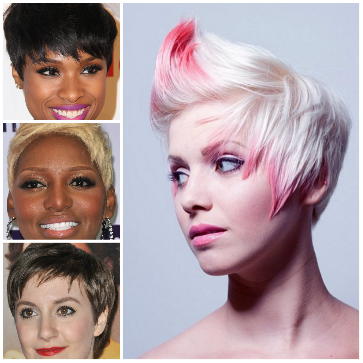 Short Spiky Hairstyles for Females