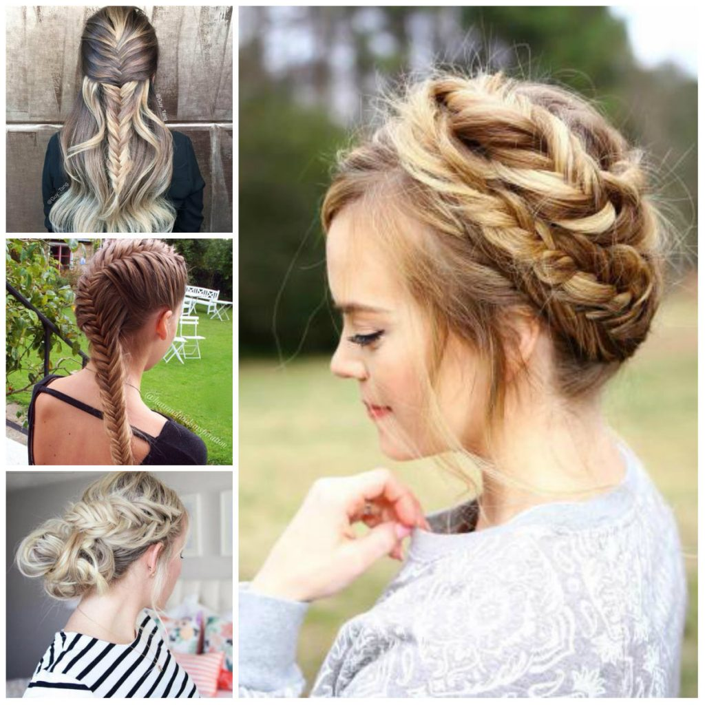 Timeless Fishtail Braids for 2017