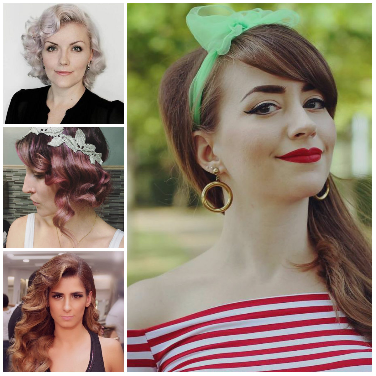 Iconic Retro Inspired Hairstyles for 2017
