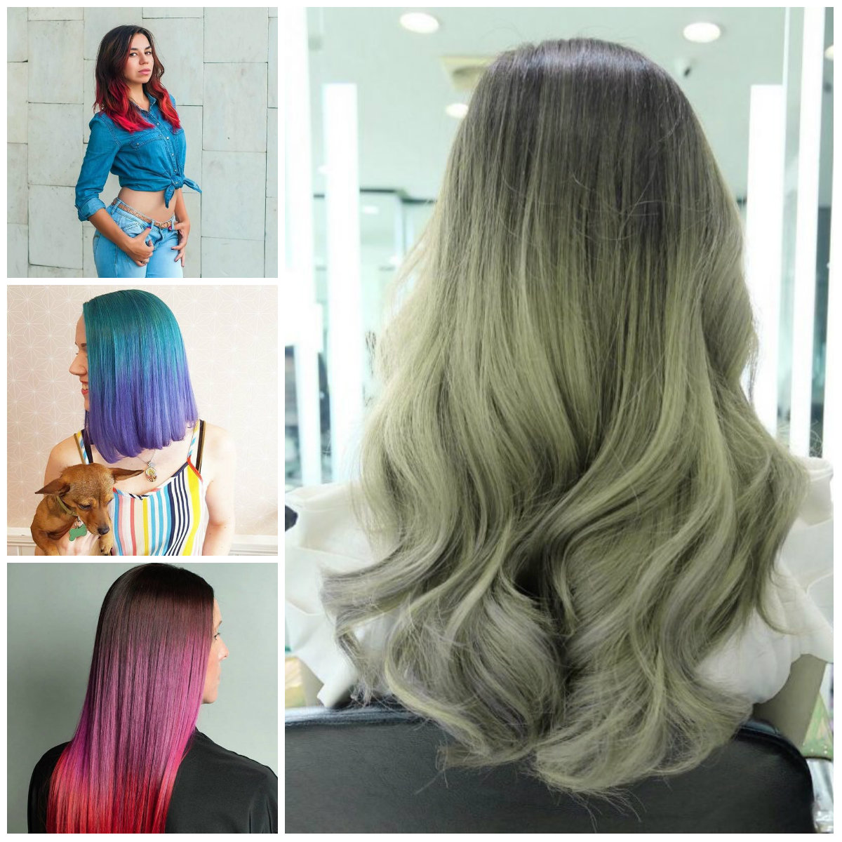 Two Tone Hair Colors for 2017