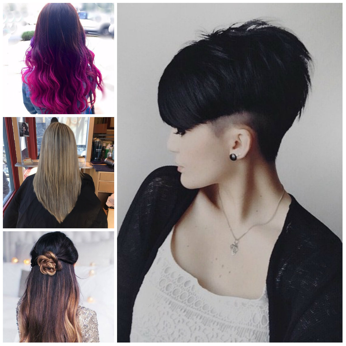 V Cut Hairstyles for Females for 2017