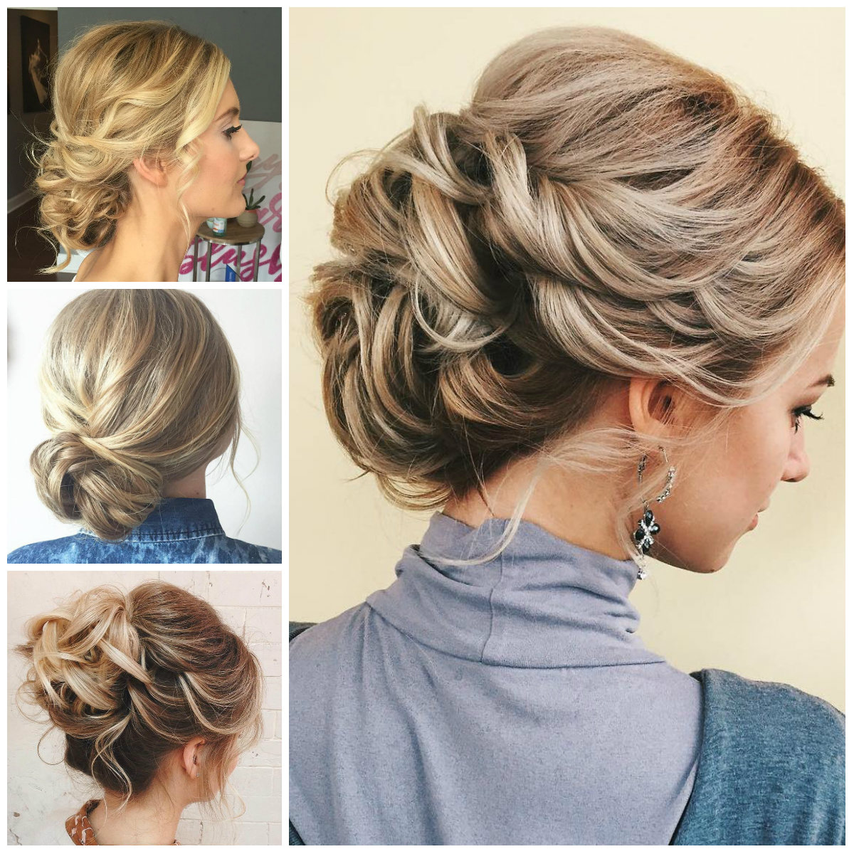 Updos for Thin Hair for 2017
